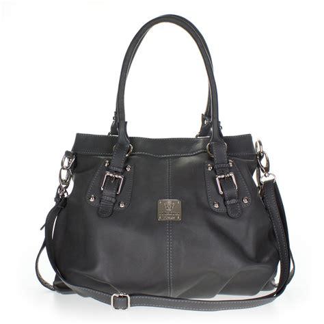 grey leather satchel medichi italian made gray leather shoulder bag satchel handbag