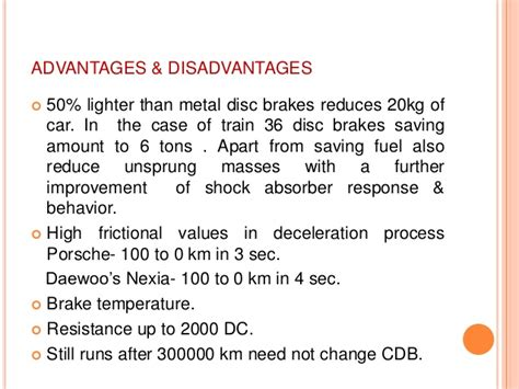 the advantages and disadvantages of using ceramic bathtubs ceramic disc brakes
