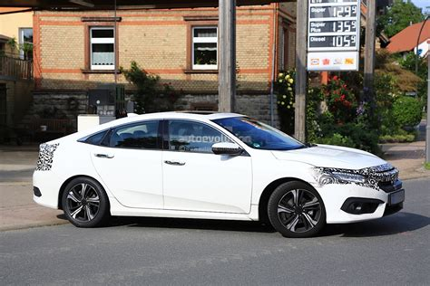 2017 honda civic sedan 2017 honda civic sedan spied almost undisguised in europe