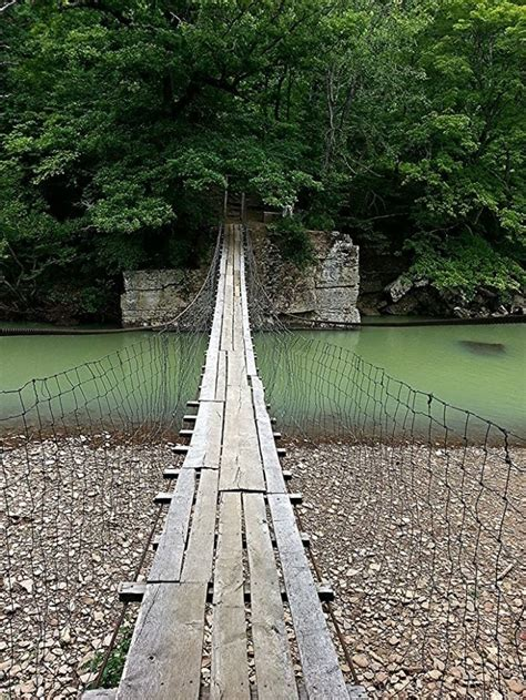 swinging bridge arkansas this terrifying swinging bridge in arkansas will make your