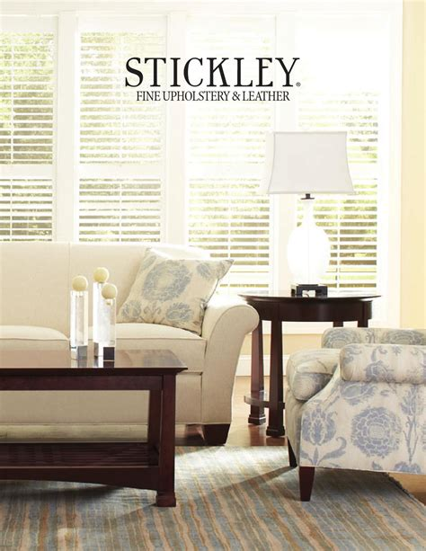 Stickley Upholstery by Issuu Stickley Upholstery Leather Collection By