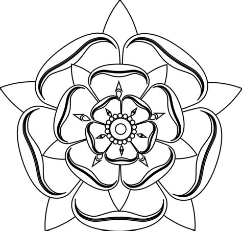 rose line art cliparts co