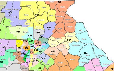 georgia state house districts georgia state senate districts