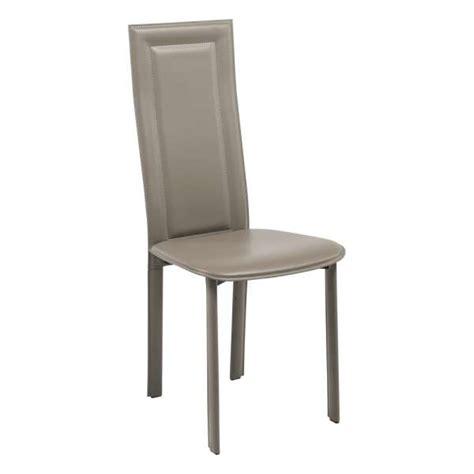 chaises en cuir chaise contemporaine en cro 251 te de cuir cl105 4 pieds