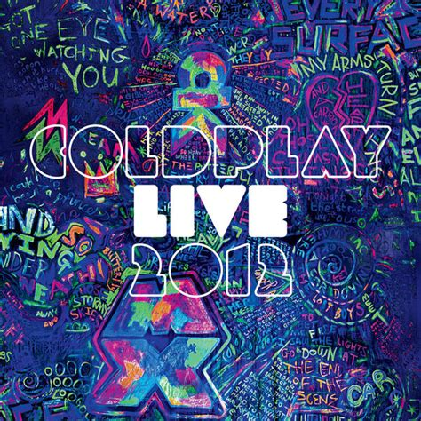 coldplay live live 2012 album cover by coldplay