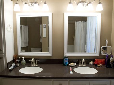 framed bathroom mirrors ideas tips framed bathroom mirrors midcityeast