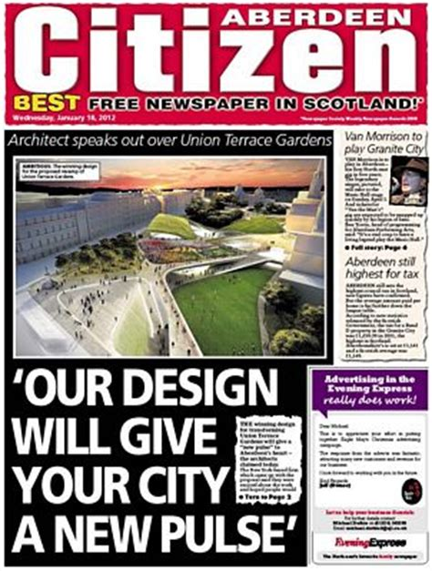 aberdeen citizen evening express aberdeen newspaper