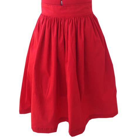 Handmade Skirts - gather waist skirt custom fit handmade fully lined