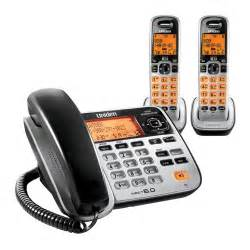 cordless speakerphone with answering machine uniden d1688 2 corded cordless digital answering