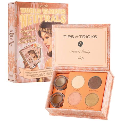 Free Benefit Palette With New Magazine by Benefit World Neutrals Most Glamorous
