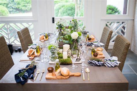hosting ideas host an outdoor dinner fashionable hostess