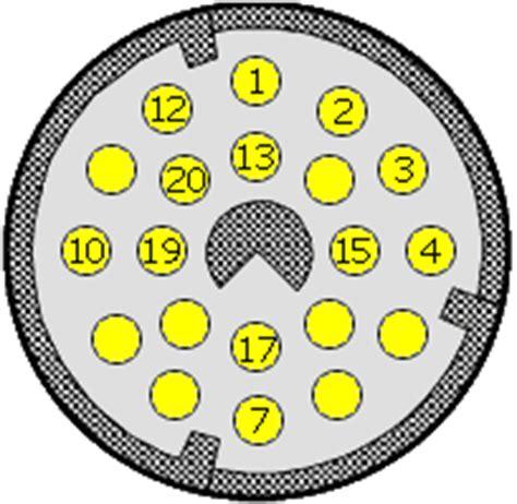 Soket Obd Pin 16 Ke 20 diagnostick 253 konektor bmw 20 pin dignostick 233 konektory