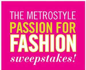 Metro Sweepstakes - look out for metrostyle sweepstakes sweepstakes advantage