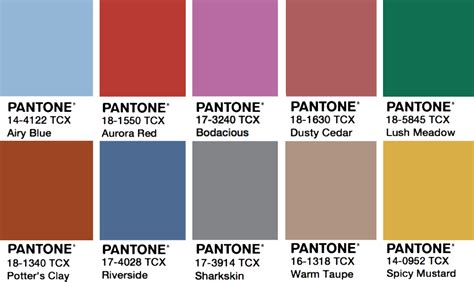 pantone paint pantone 2017 color forecast macala wright