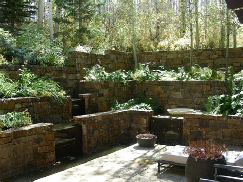 best backyards impression of best terraced backyard landscaping ideas