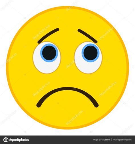 imagenes de un emoji triste emoticono triste moda estilo plano ilustraci 243 n de vector
