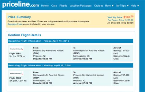 The Flight Deal   American ? $136: Phoenix ? Minneapolis