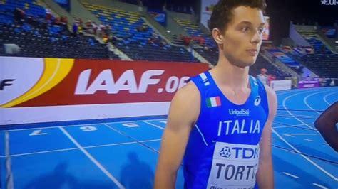 Filippo Tortu Filippo Tortu Vice Cione Mondo Dei 100 Junior A