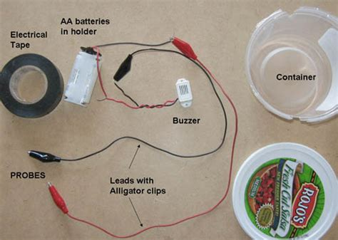 make an electric circuit engineering science use a electronic tester to