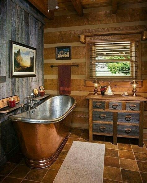 rustic bathroom 25 best ideas about log home bathrooms on log