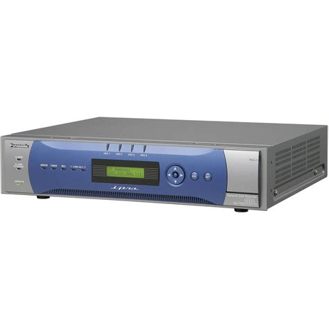 Disk Recorder Panasonic Network Disk Recorder 4tb Wjnd300a 4000t B H Photo