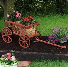 buckboard wagon woodworking plan diy pinterest gardens woodworking plans  garden projects