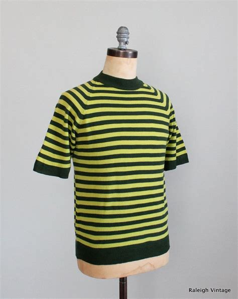vintage 1960s mod striped sweater raleigh vintage