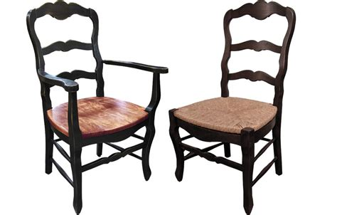 country french ladderback chair french country dining