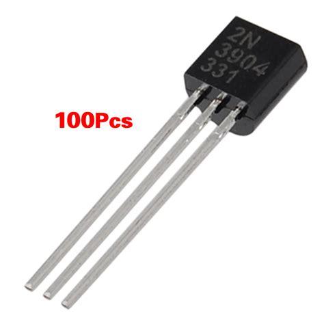 gambar transistor bipolar npn 100 pcs 2n3904 through npn bipolar transistors ym ebay