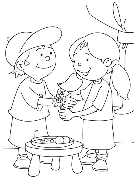 rakhi festival drawing happy raksha bandhan pinterest