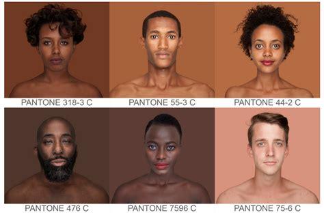 pantone 476c pantone skin tone project shows spectrum of diversity