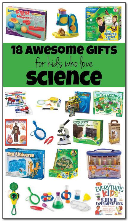 best gifts for kids who love science holiday gift guide