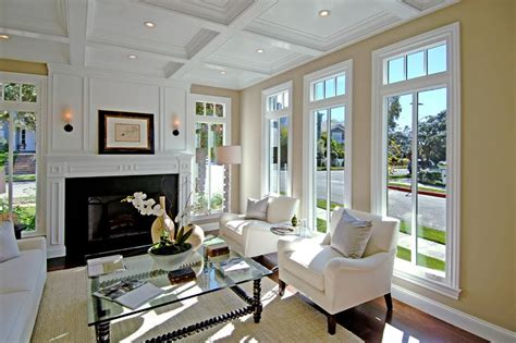 White Molding Living Room Todd Meridith