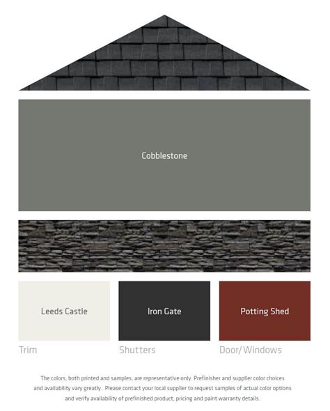 best color combinations with black fresh color palettes for a gray or black roof