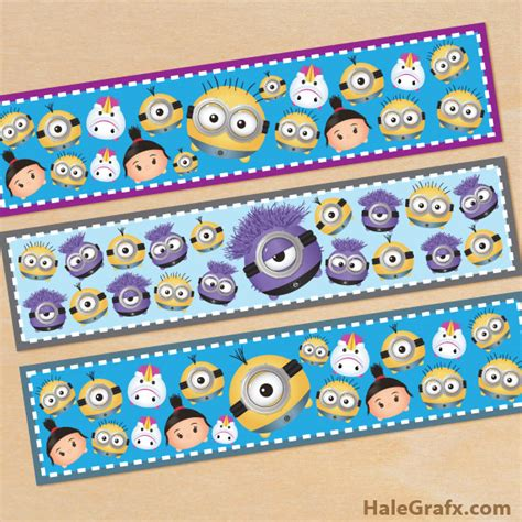 printable bookmarks minions free printable despicable me 2 minions memory game