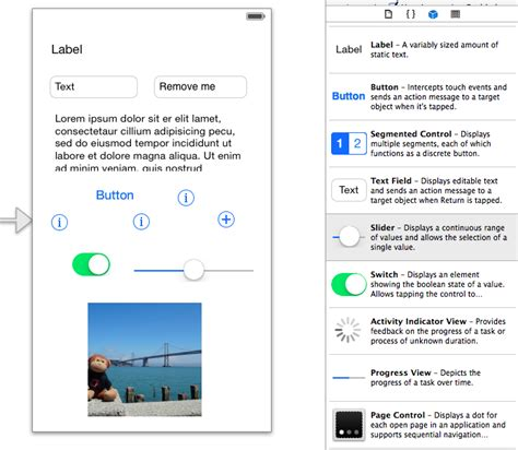 airport design editor object library creating user interface objects xamarin