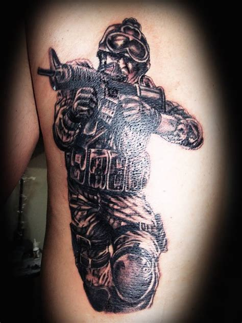 tattooed soldier soldier by eder1985 on deviantart