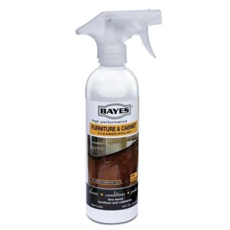 kitchen cabinet cleaner and polish bayes 16 oz high performance furniture and cabinet
