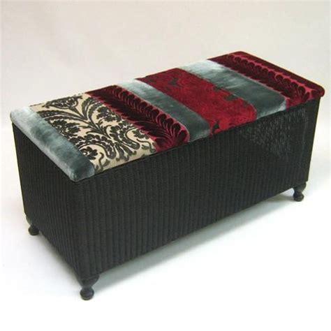 lloyd loom ottoman 28 best images about lloyd loom upcycling ideas on
