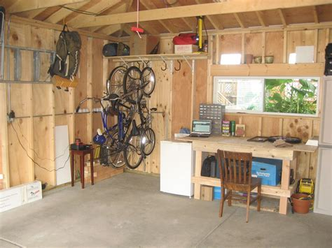 Simple Low Cost DIY Garage Organization Ideas With Wood