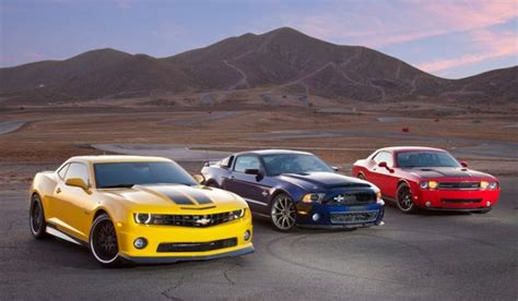 The 3 American Muscle Cars You Brits Want Badly