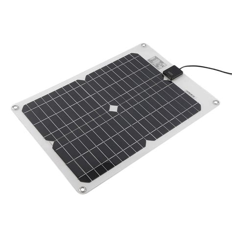 Multi Purpose Portable Solar Panel Battery Charger For Car Rv Car Battery Mc