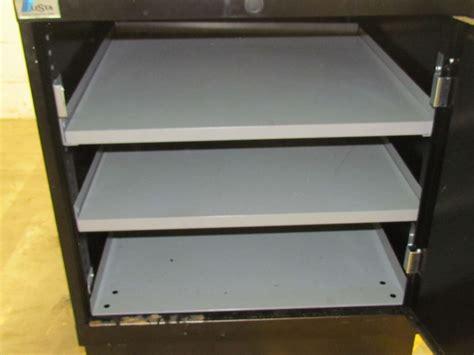 lista cabinets lost key lista 29x29x34 quot industrial tool organizer storage cabinet