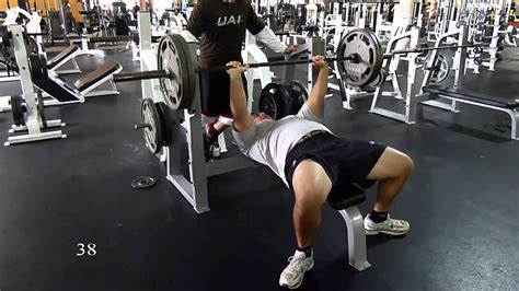 225 bench press workout 225 lbs for 42 reps nfl combine bench press rob balkunas