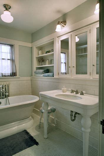 bungalow bathroom ideas 147 best early 1900s bathrooms images on pinterest
