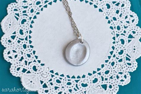 make fingerprint jewelry how to make fingerprint jewellery necklace diy crafts