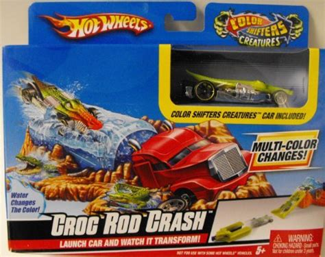 Hotwheels Crocodile Crunch Spesial wheels color shifters croc sale r50 your purchase