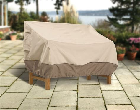 Outdoor Covers For Patio Furniture Alluring Tile Flooring Waterproof Patio Furniture Covers With Beige Color In Center Placed