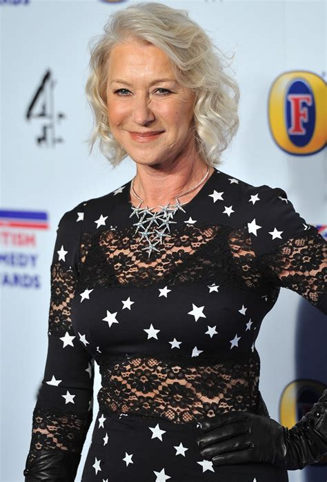 helen mirren signs on to give inner voice to a glee
