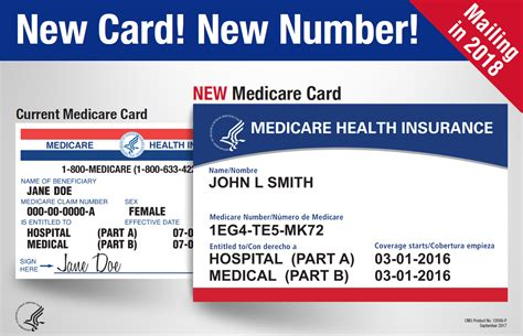You Will Receive A New Medicare Card 4 2018 4 2019